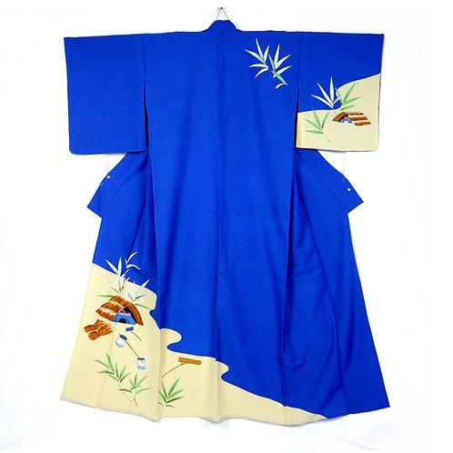 Water's Edge Scene Kimono