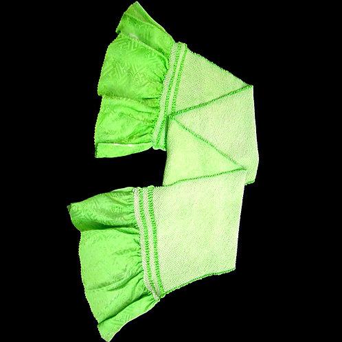 Green Silk Shibori Obiage