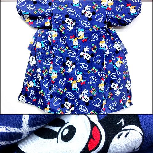 Mickey Mouse Blue Kimono
