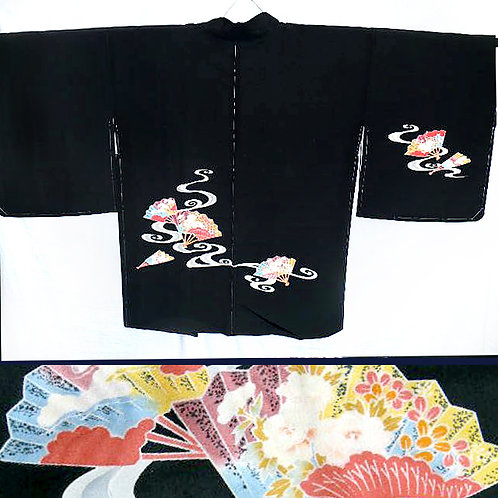 Exquisite Fans Silk Haori
