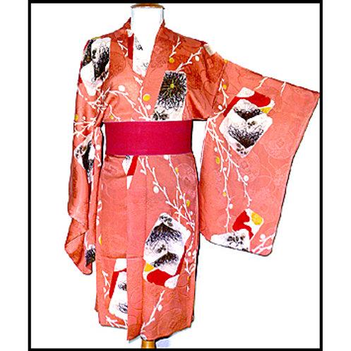 Antique Haori - Shikishi Pattern