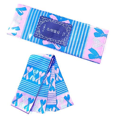 Blue Bows Date-Jime Obi