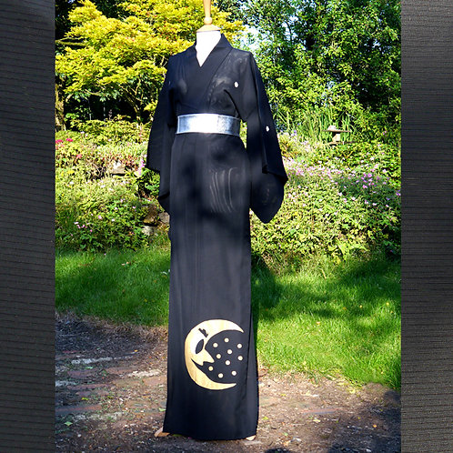 Mr Moon - Sheer Silk Kimono