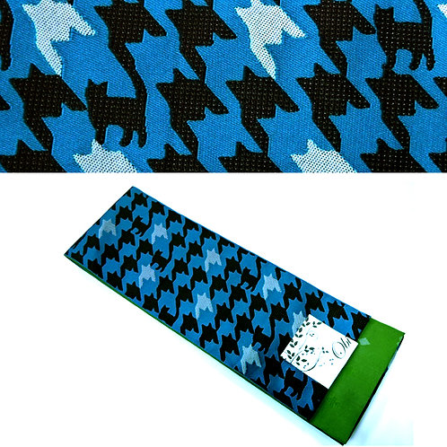 Sneaky Houndstooth Cats Hanhaba Obi