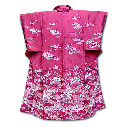 Graduated Scenery Kimono