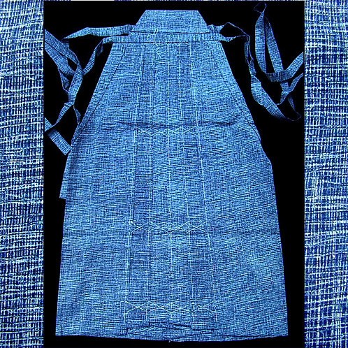 Blue Cotton Umanori Hakama
