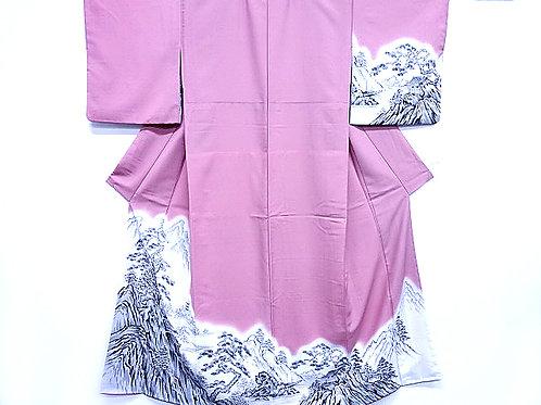 Magnificent Scenery Kimono