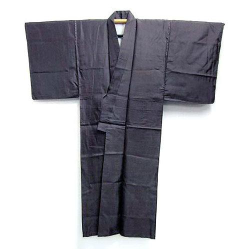 Brown Silk Informal Kimono