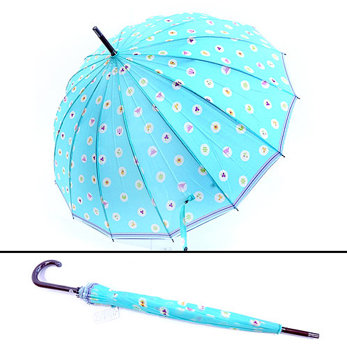 A Japanese Umbrella - Light Blue