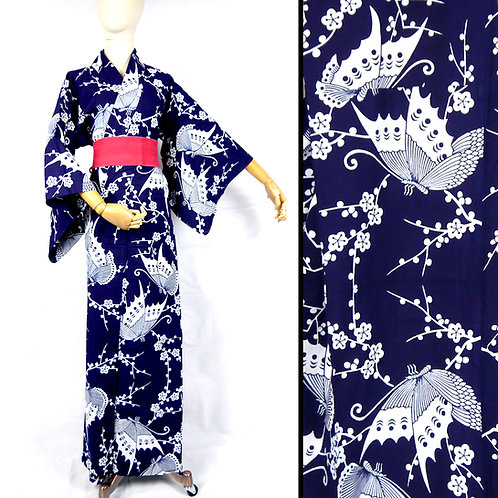 Big Bold Butterflies Yukata Kimono