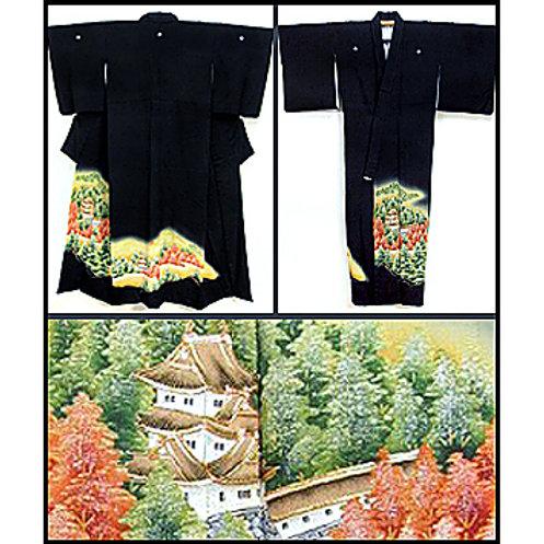 Japanese Castle Kimono