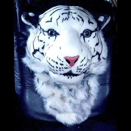 Huge Snow Tiger Backpack - A