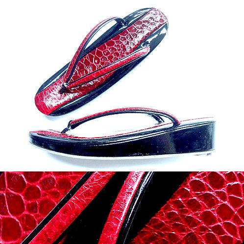 Black & Red Zori