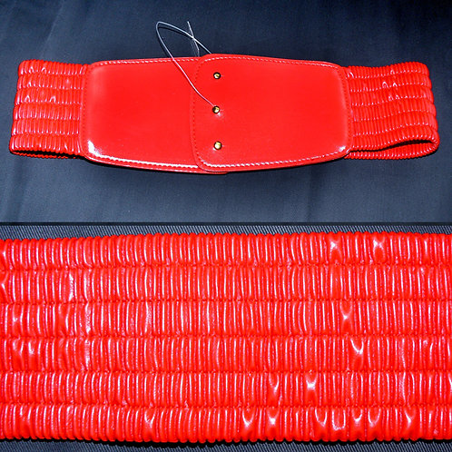 Red Stretch Belt M