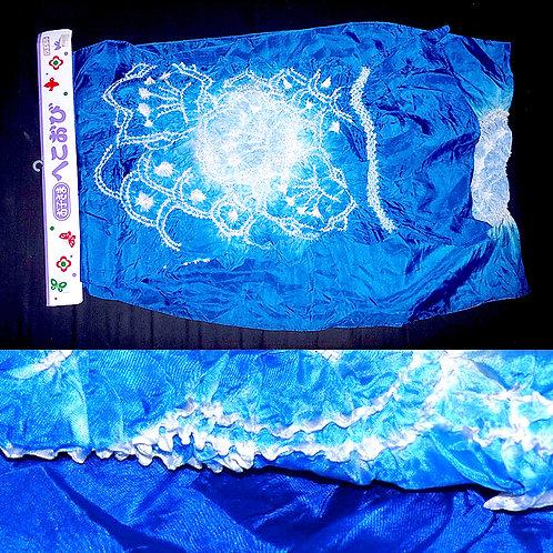 Blue Silk Heko Obi