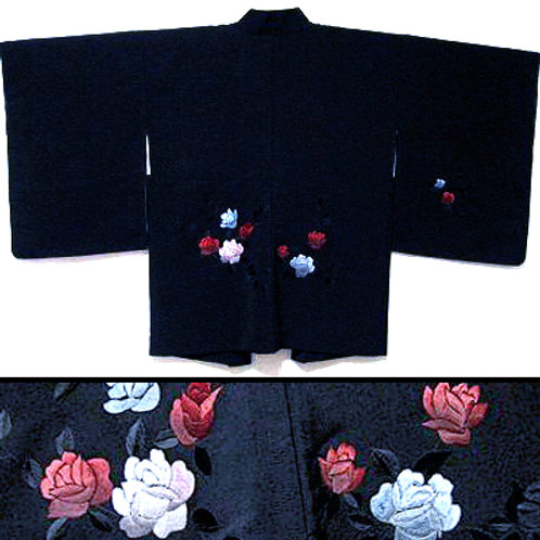 Embroidered Roses