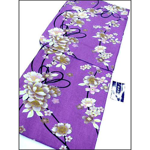 All Cotton Yukata - Blossom