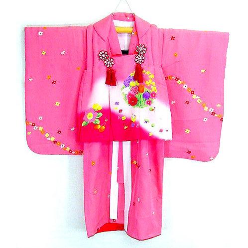 Kimono, Hifu & Bag Set
