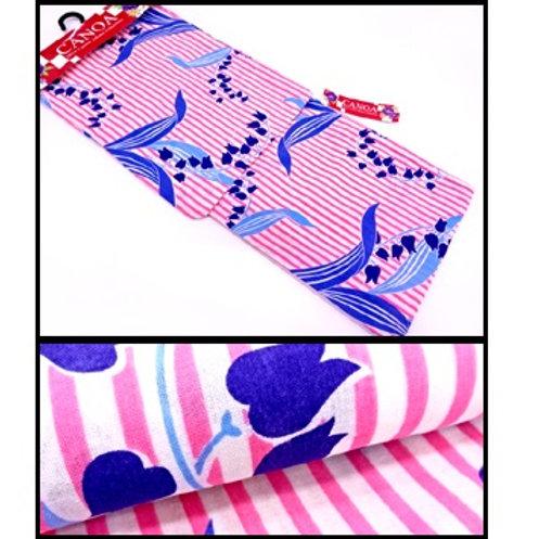 Candy Striped Yukata Kimono