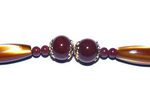 Haori Himo * Amber Beads