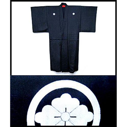 Habutae Silk Montsuki Kimono