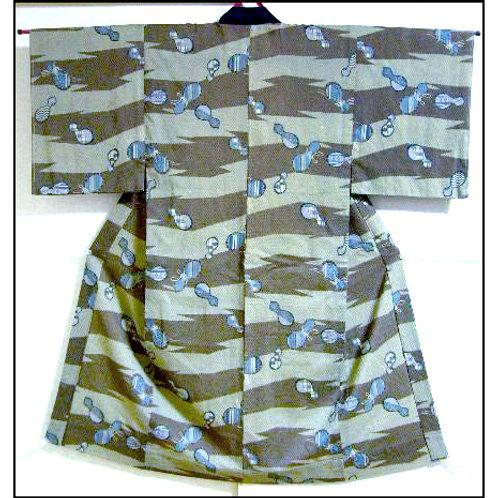 Hyotan Naga-Juban Kimono