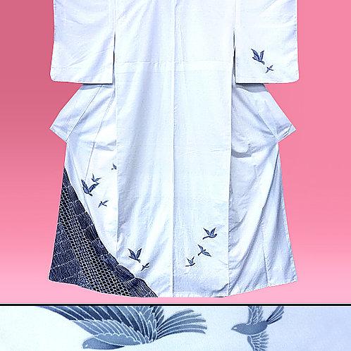 Flying Birds Kimono