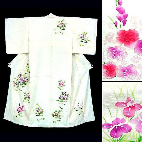 Watercolour Flowers Kimono