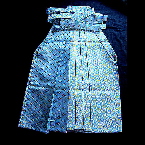Child's Blue & Gold Hakama