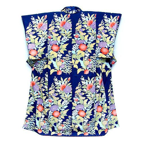 Blue Bold Kimono