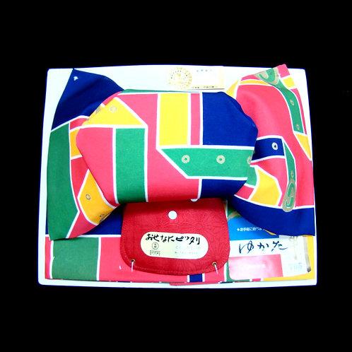 Multicoloured Bow Obi