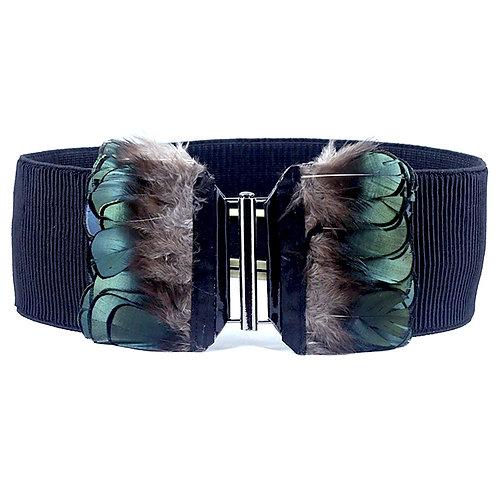 Feather Buckle Elastic Belt 8-12