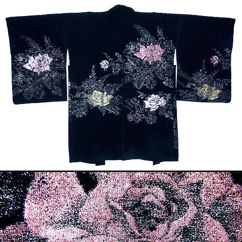 Sparkling Roses Haori