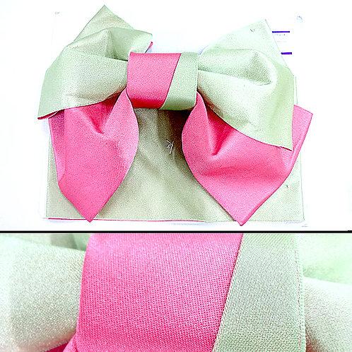 Pink & Green Bow Obi