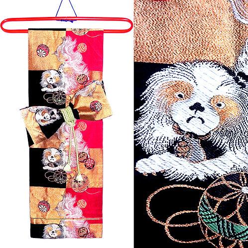 Chin Dogs Nagoya Obi - as Display or to Wear
