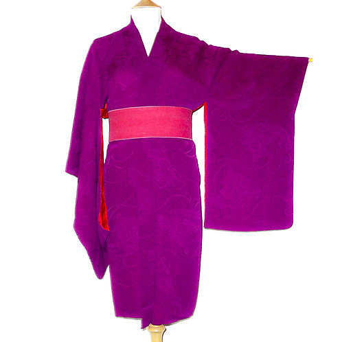 Deep Purple Long Haori