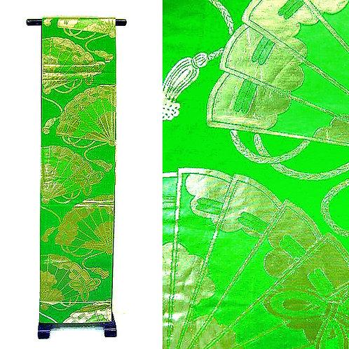 Gold & Green Fukuro Obi