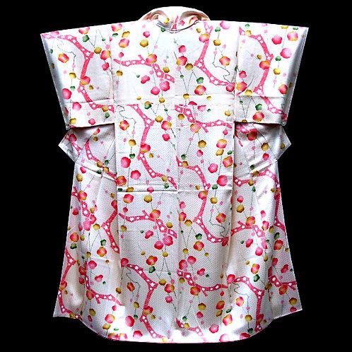 Floral Cream Kimono