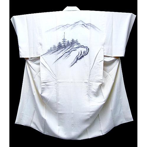 Astounding Sumie Naga-Juban Kimono
