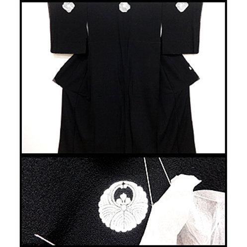 Kuro-Tomesode Black Kimono