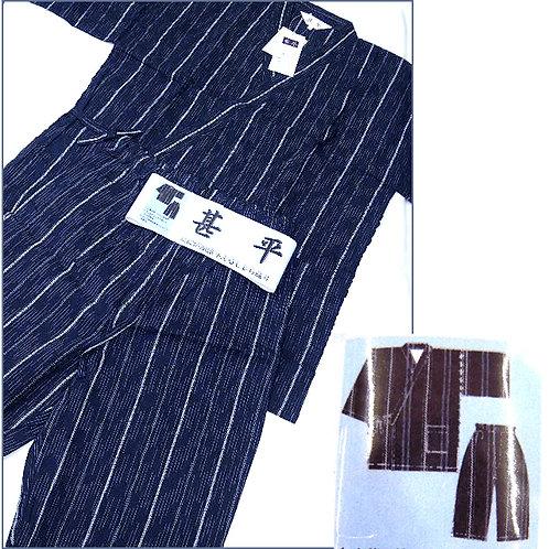 Jinbei - Stripes - Dark Navy - L
