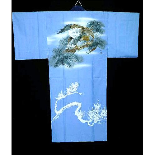 Hawk & Matsu Juban Kimono