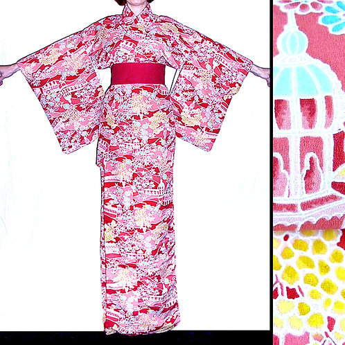 Gardens & Palaces Kimono