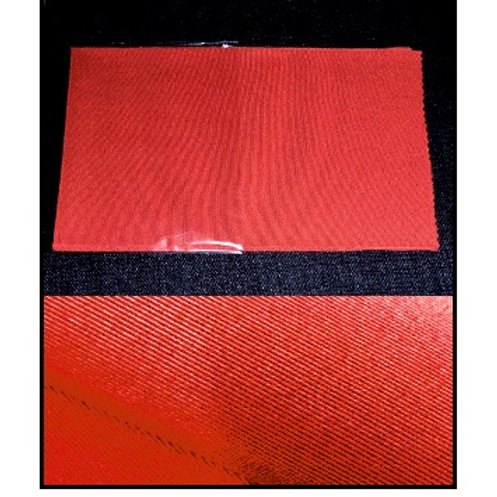 Dark Russet-Red Silk Han Eri