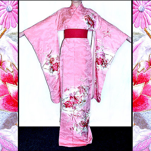 Embroidered Silk Furisode