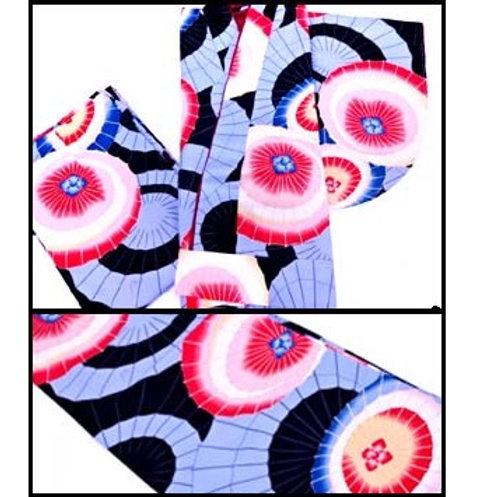 2-Part Kimono - Parasols - L Item code: