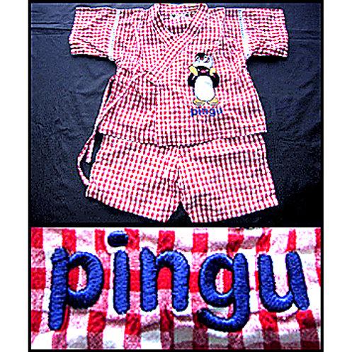 Pingu Embroidered Jinbei