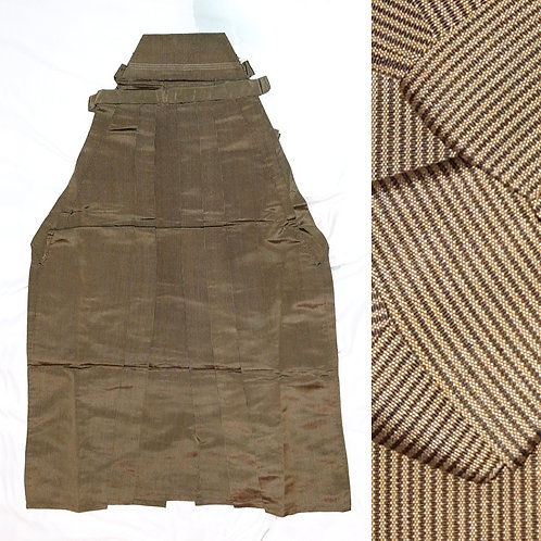 Ochre Striped Umanori Hakama