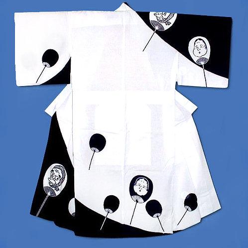 Hyottoko & Otafuku Kimono