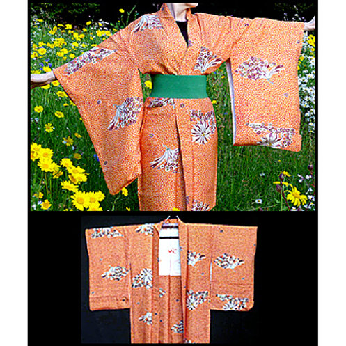 Soft, Long Antique Haori